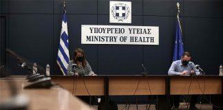 κορονοϊός ενημέρωση παπαευαγγέλου χαρδαλιάς υπουργείο υγείας