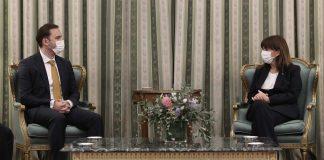 Κατερίνα Σακελλαροπούλου Υπουργός Εξωτερικών δηλώσεις